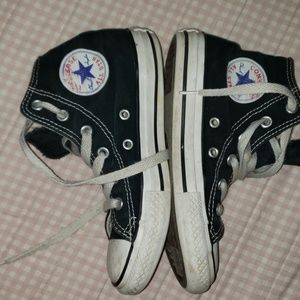 Used converse hi tops size 13 kids